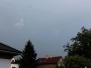 Bouřky 20. a v noci na 21.6.2012